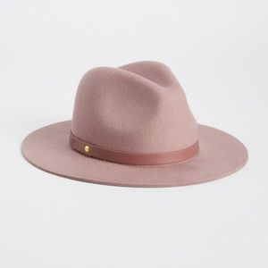 GAP Accessories - New Pink Wool Fedora from the Gap Size S M 25a7c5a8177